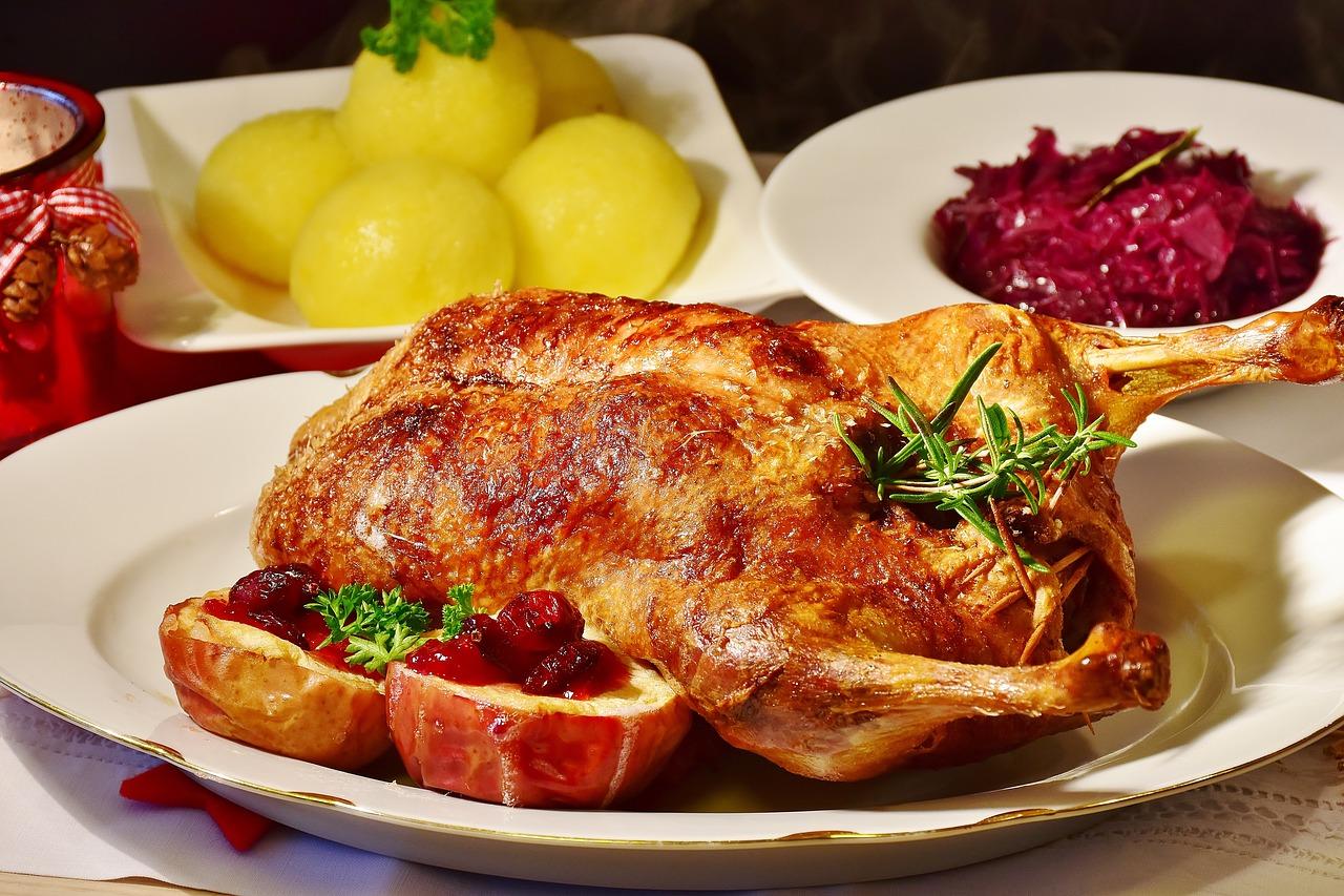 Leckere Gans essen im November im Teichhaus Bad Nauheim