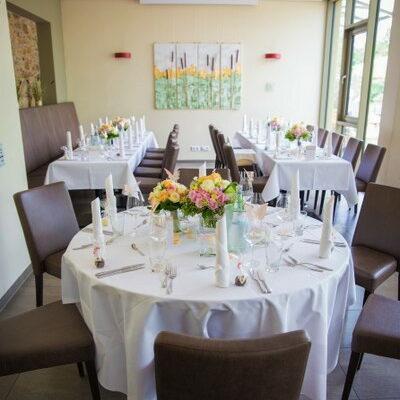 Jubiläum feiern: z.B. silberne oder Goldene Hochzeit im Teichhaus