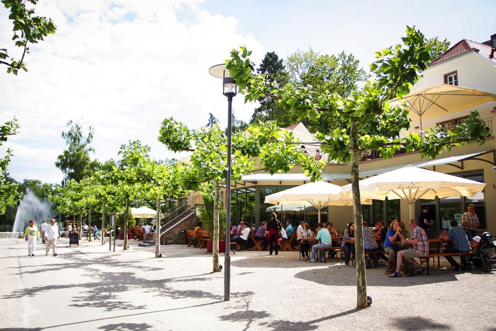 Sommer Feste feiern Kurpark Bad Nauheim
